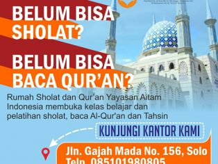 rumah sholat dan qur'an