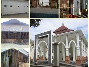Progres pembangunan sumur dan instalasi wudhu di Pesantren Aitam