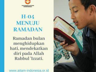 H-04 menuju ramadan