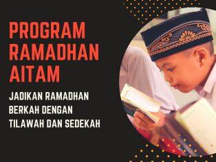 Jadikan Ramadhan Berkah dengan Tilawah dan Sedekah